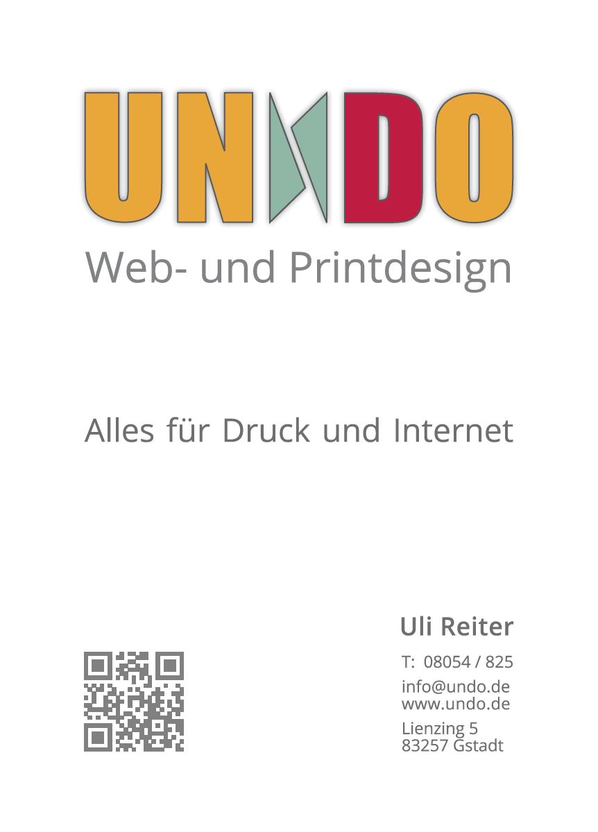 Zur Homepage von: UNDO - Web- & Printdesign